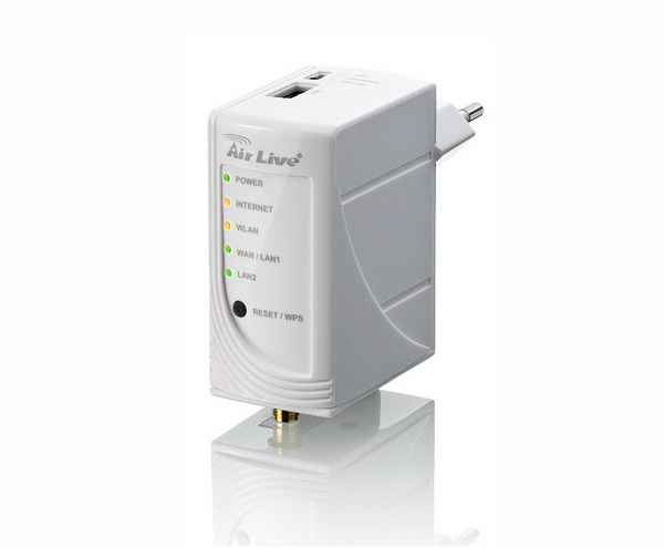Airlive N.Plug One Touch Wireless Repeater