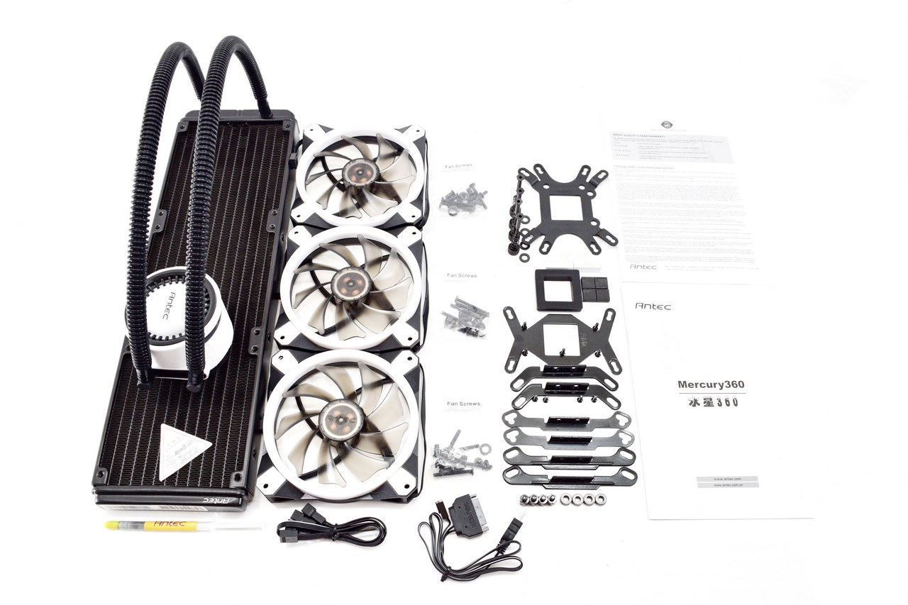 Antec Mercury 360 AIO Liquid CPU Cooler Review