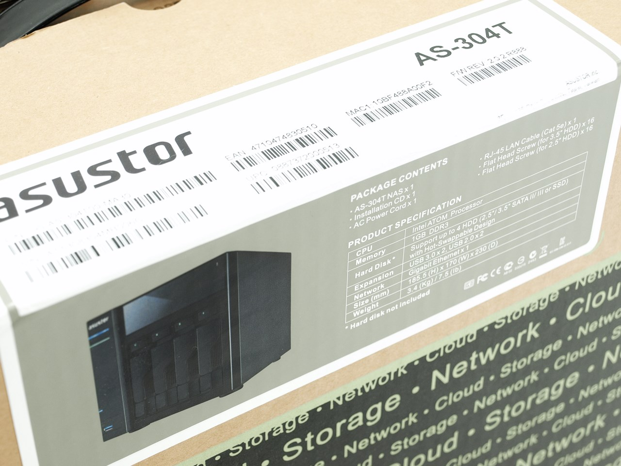 ASUSTOR AS-304T NAS Server Review