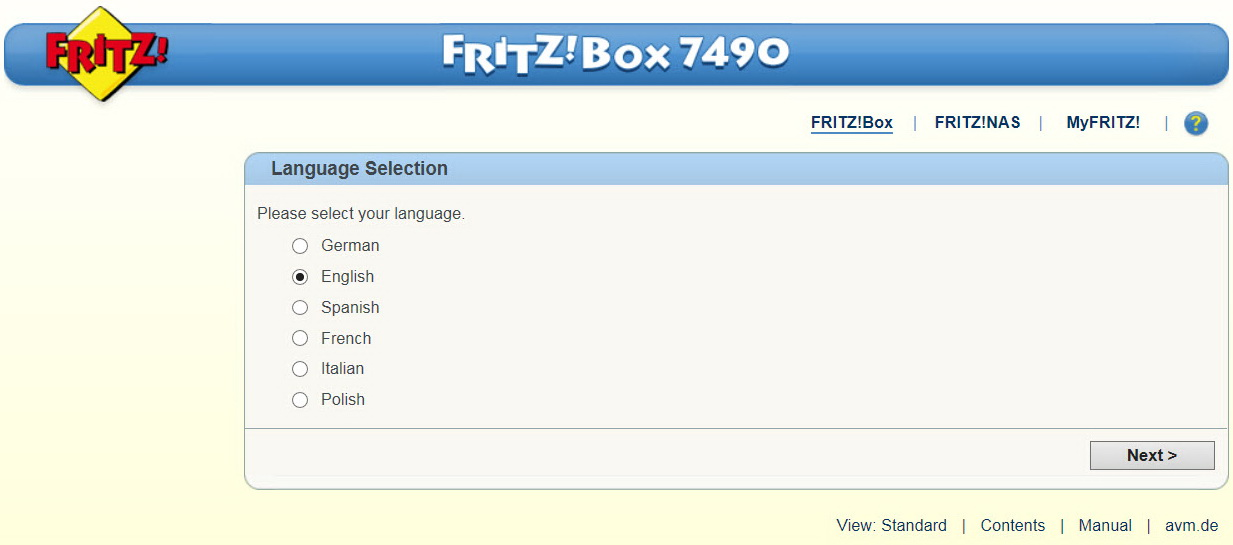 fritz.box 192.168.178.1 login