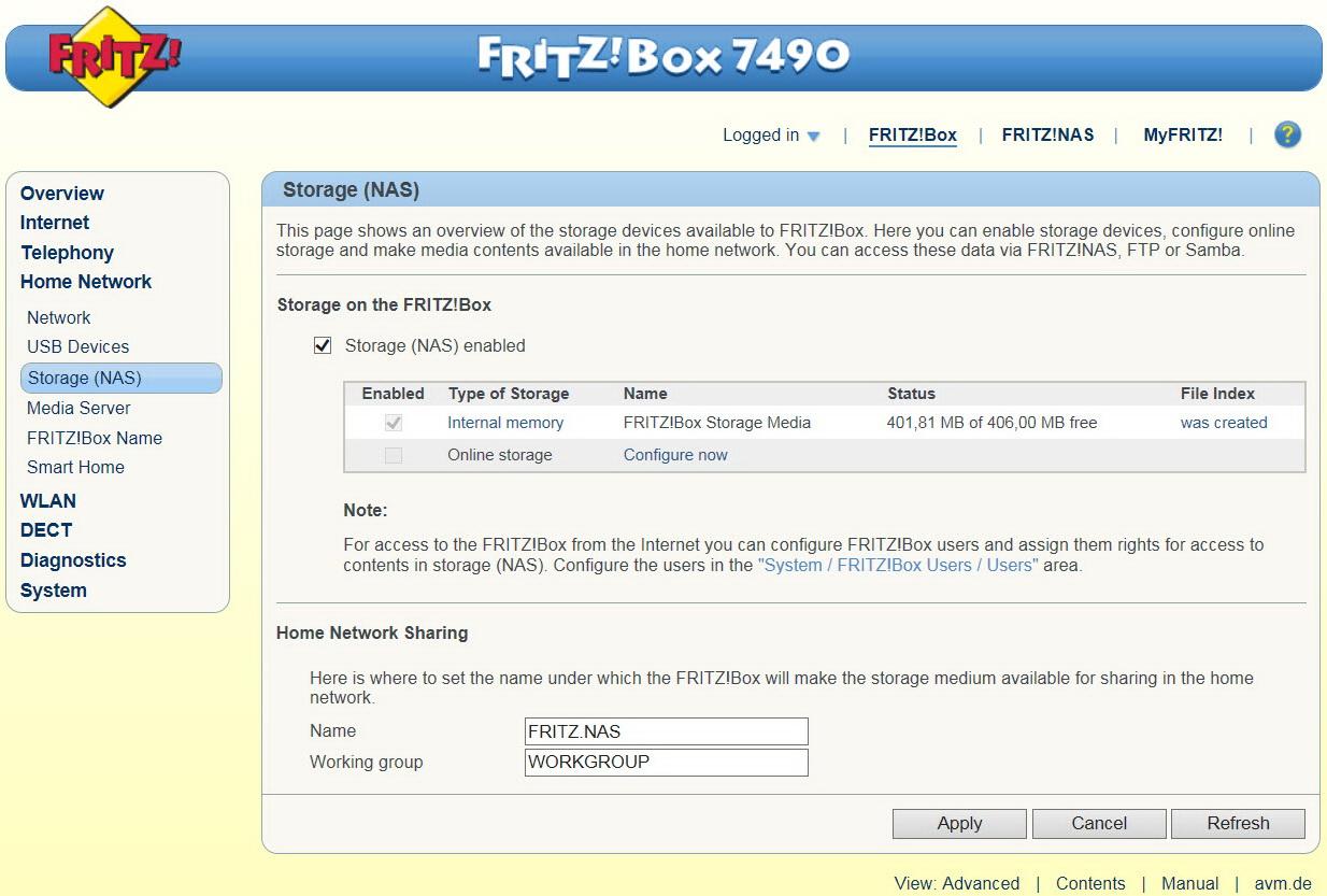 avm fritz box 7490 ac1750 gigabit modem router review. Black Bedroom Furniture Sets. Home Design Ideas