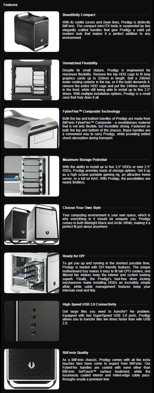 Bitfenix Prodigy Mini Itx Pc Case Review