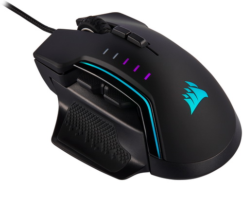 CORSAIR GLAIVE RGB PRO MOBA/FPS Gaming Mouse