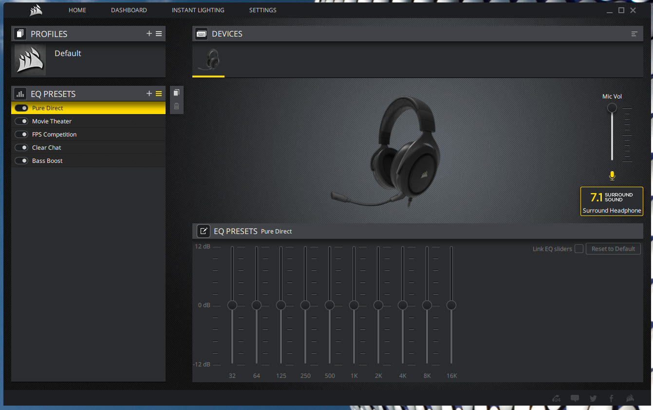 CORSAIR HS60 Stereo Gaming Headset With 7 1 Surround Sound Review