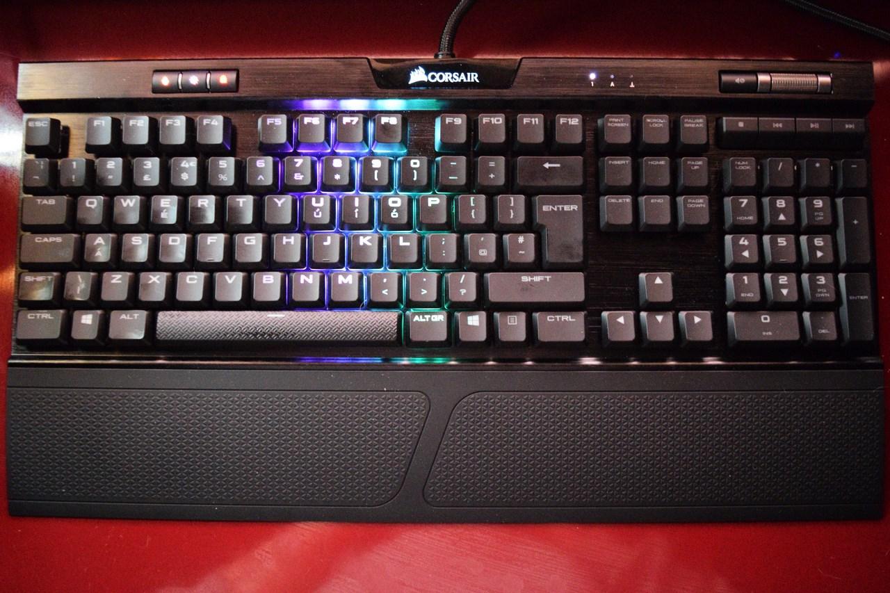 CORSAIR K70 RGB MK 2 Low Profile Mechanical Gaming Keyboard