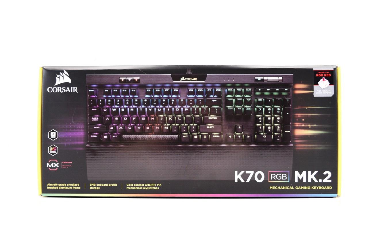 CORSAIR K70 RGB MK 2 Mechanical Gaming Keyboard Review
