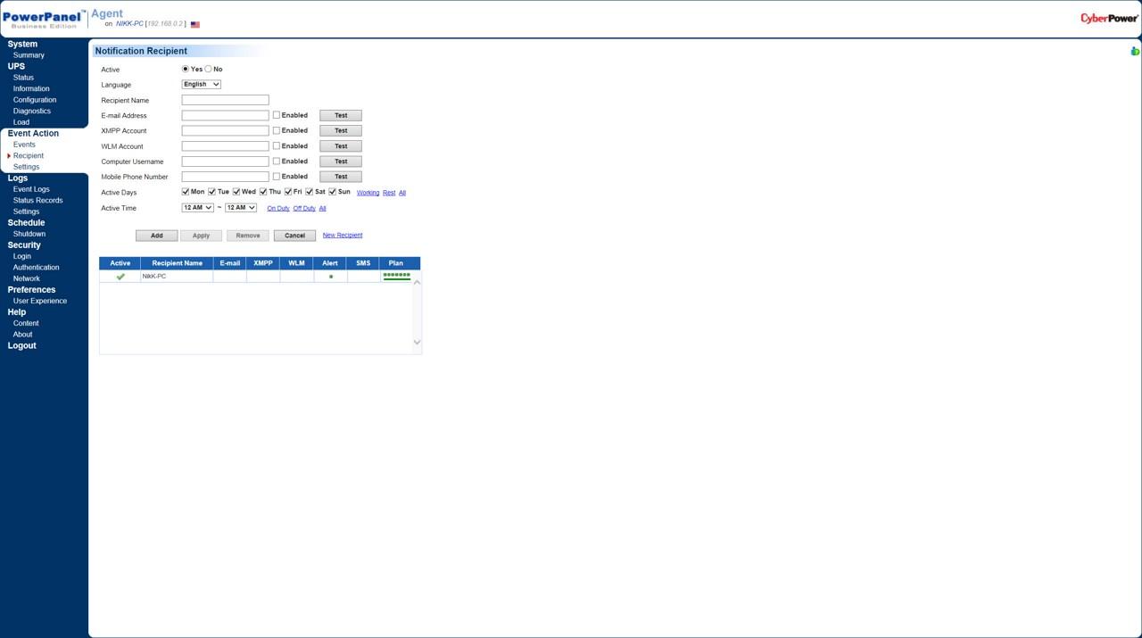 CyberPower PR1500ELCDRTXL2U Professional Rackmount Series