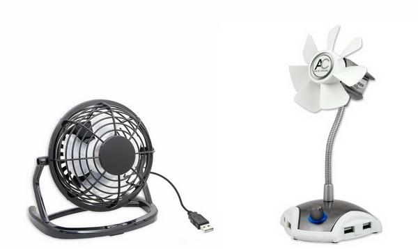 ARCTIC Breeze Pro & IOCrest Mini USB Fan Comparison