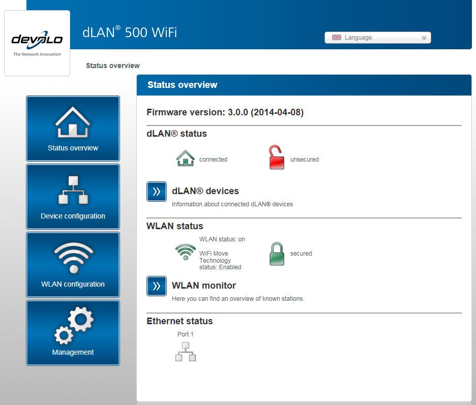 devolo dlan 500 wifi network kit review. Black Bedroom Furniture Sets. Home Design Ideas
