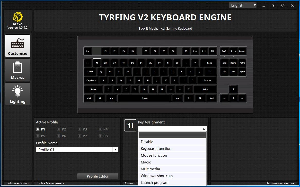 Drevo Tyrfing V2 Rgb Backlit Tenkeyless Mechanical Keyboard Review