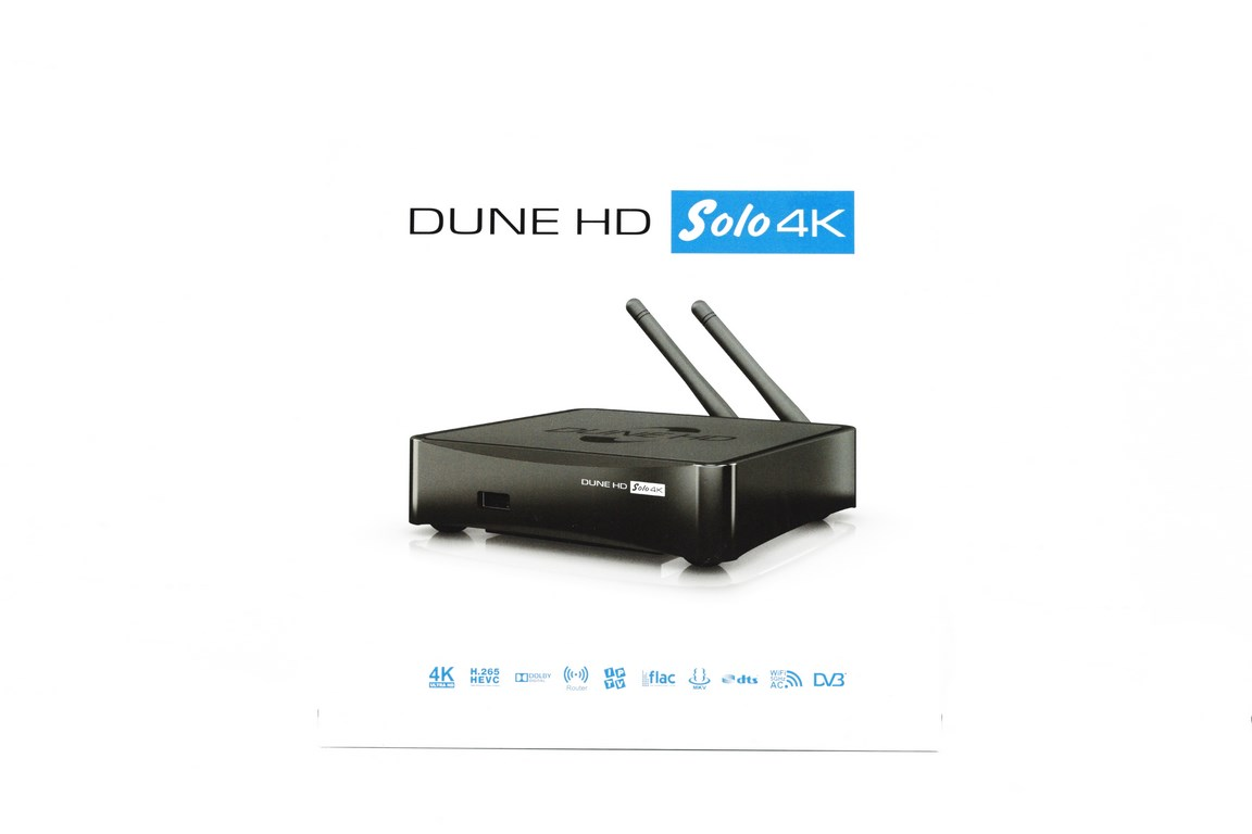 Dune HD Solo 4k UHD HEVC Enabled Media Player Review