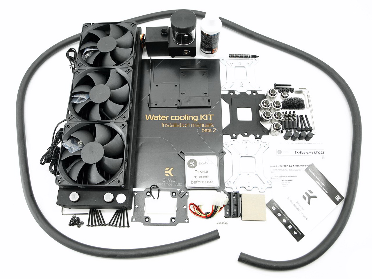 EK WaterBlocks EK-KIT L360 Water-Cooling Kit Review