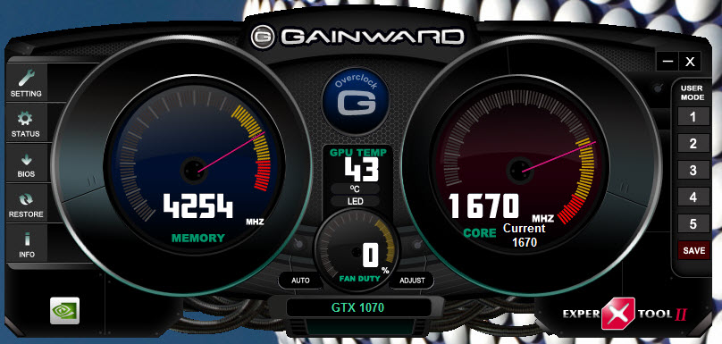 GAINWARD GeForce GTX 1070 Phoenix GLH 8GB Graphics Card Review
