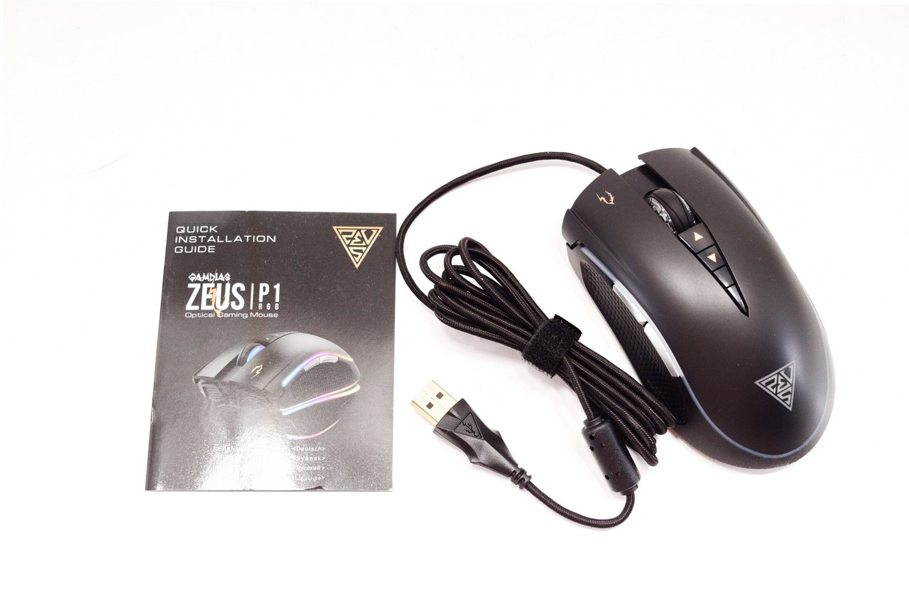 Gamdias Zeus P1 Rgb Optical Gaming Mouse Review Inside The Package We Just Found And Quick Installation Guide