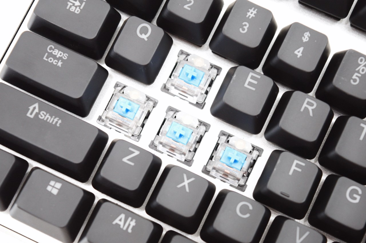 how to change the colour on a hv kb366l keyboard