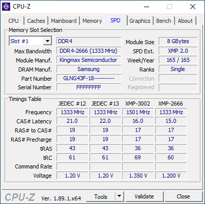 Kingmax Zeus Dragon DDR4 RGB 32GB 3000MHZ CL16 Quad-Channel