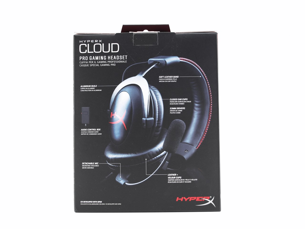 Kingston hyperx cloud ii gaming headset word cloud - Hyperx Cloud Headset 03t On The Opposite Side We See A Few Words About The Hyperx Line Of Products In 3 Languages