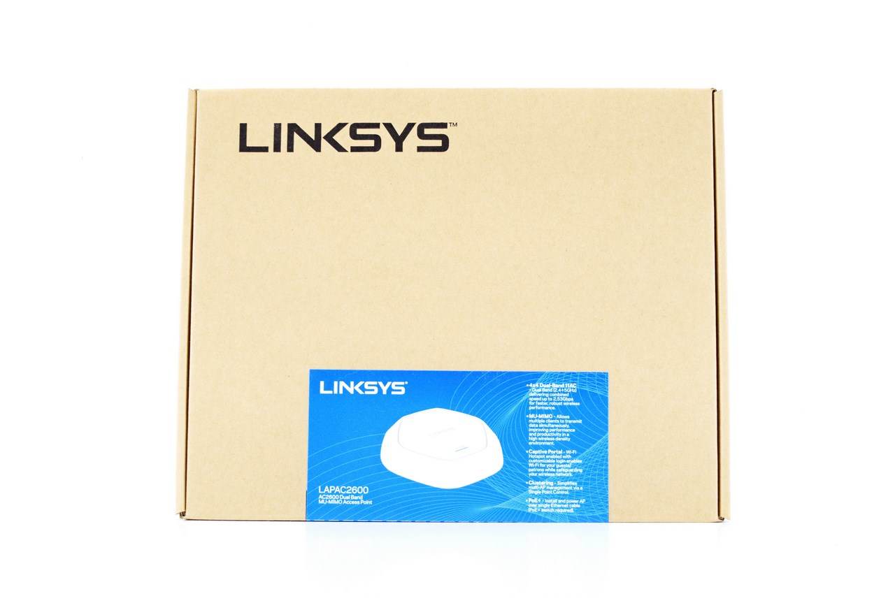Linksys LAPAC2600 AC2600 Dual Band MU-MIMMO Access Point Review