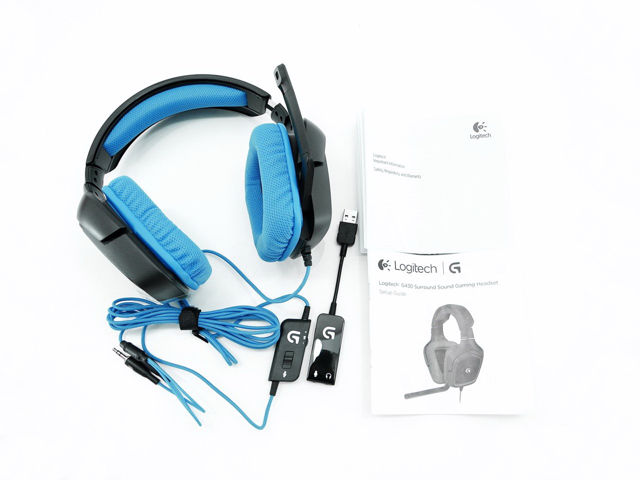 d6439b51710 Logitech G430 Surround Sound Gaming Headset Review