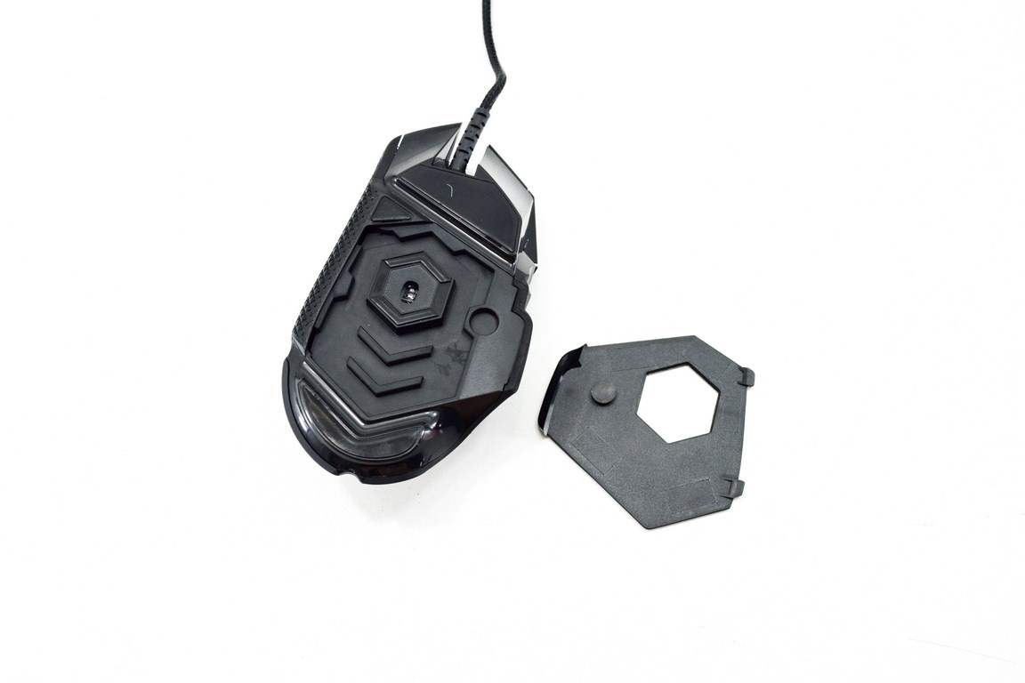 how to add weight to logitech g502