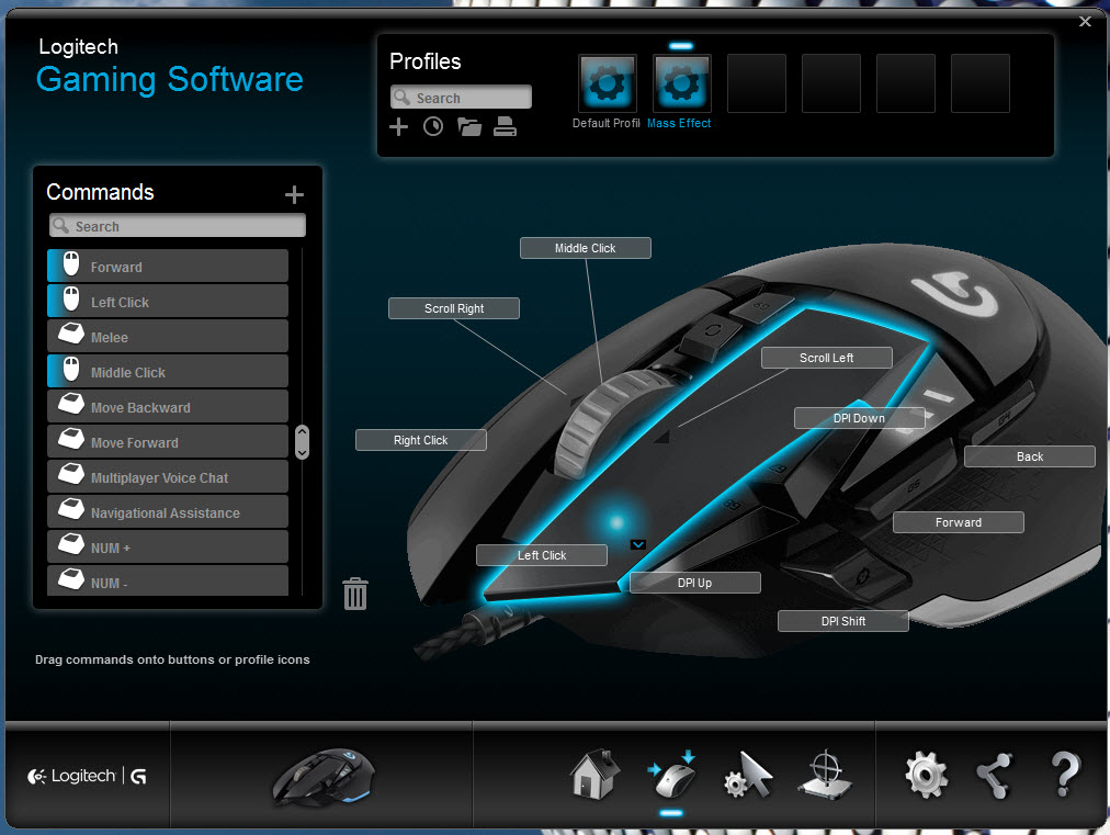 Logitech G502 Proteus Core Tunable Gaming Mouse Review