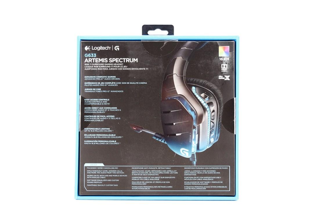 Logitech G633 Artemis Spectrum RGB 7.1 Surround Gaming Headset Review