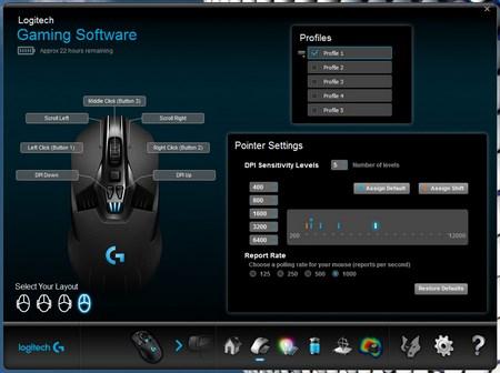 Logitech G903 Lightspeed Professional Grade Wired / Wireless Gaming