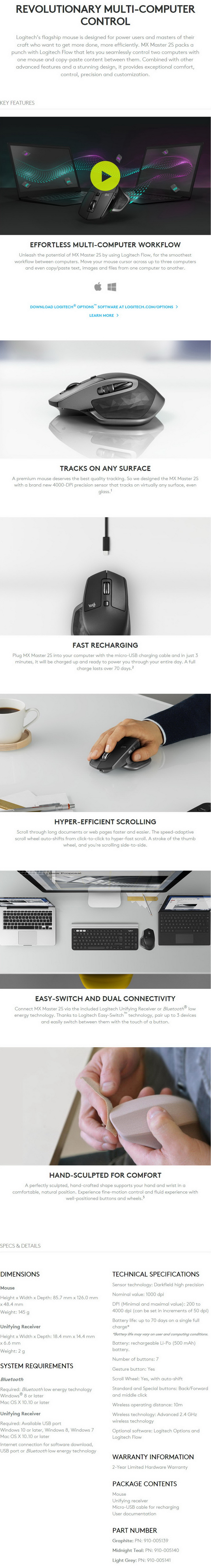 Logitech Options Smooth Scrolling