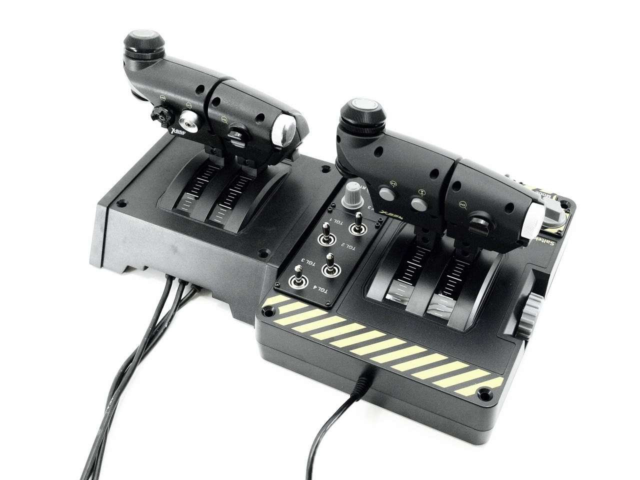 Saitek X-55 Rhino HOTAS System Review