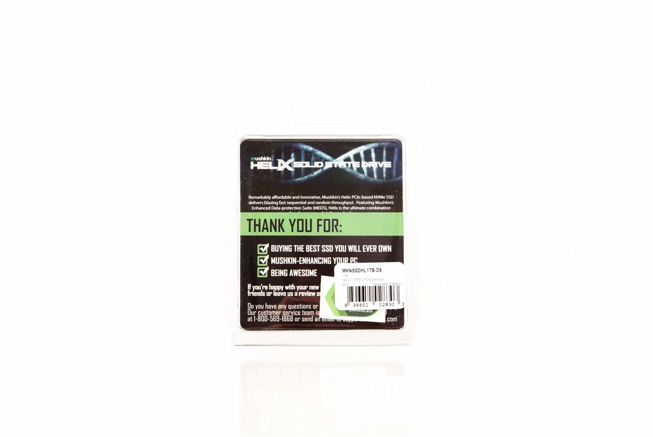 Mushkin Helix-L 1TB M 2 NVMe SSD Review
