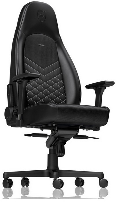 Image result for Noble Chairs NBL-ICN-PU-GOL Icon Series Gaming Chair