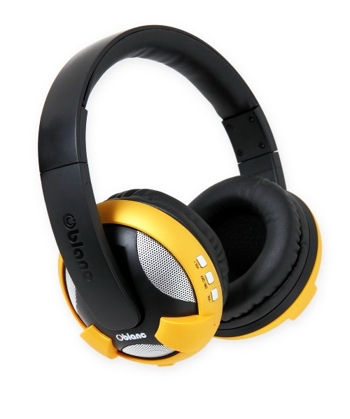 oblanc nc2 3 u f o bluetooth stereo headphones review. Black Bedroom Furniture Sets. Home Design Ideas