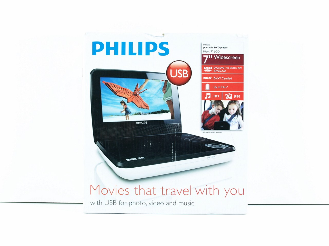 Philips pd7030 12 portable dvd player review