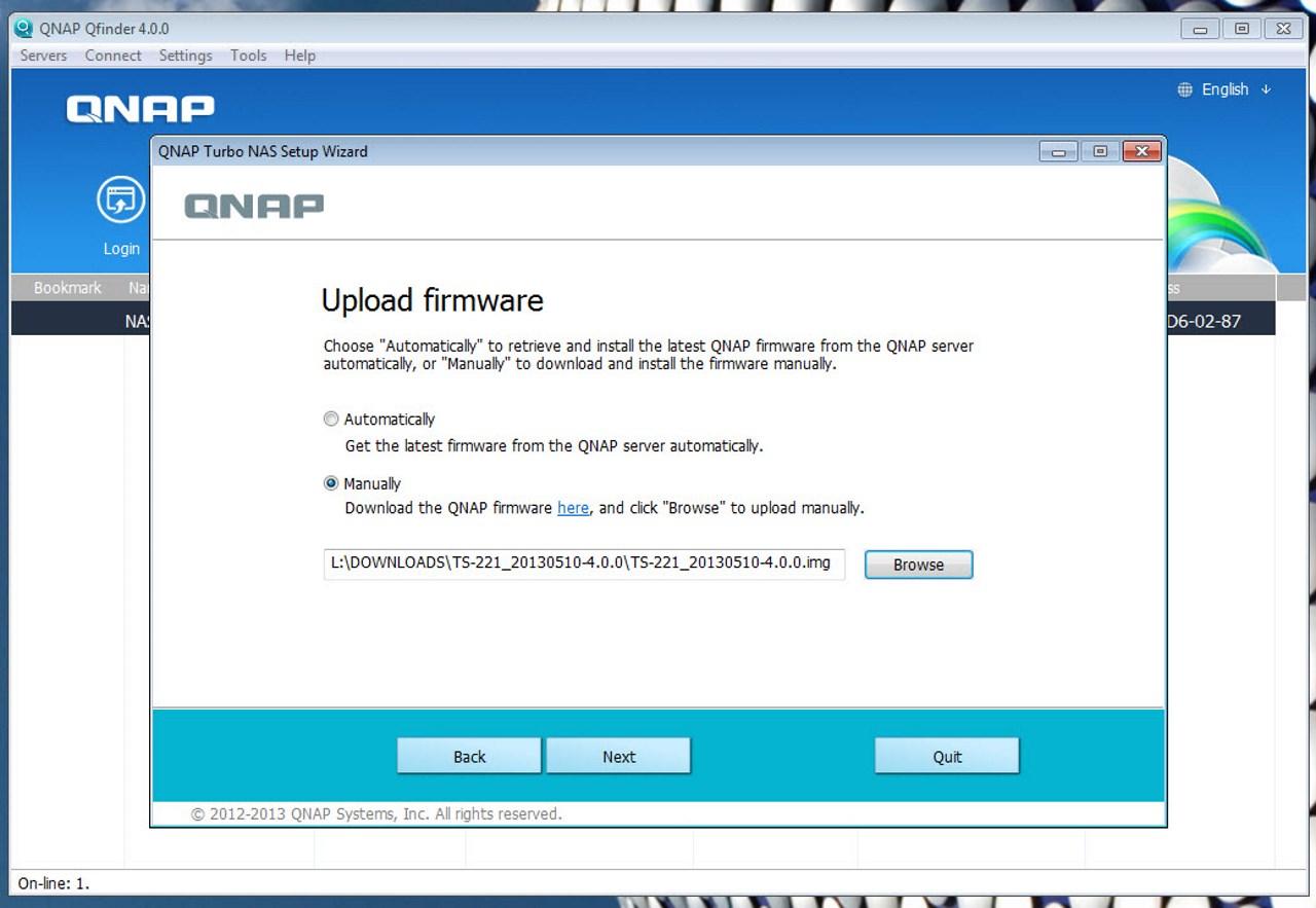 Qnap firmware download