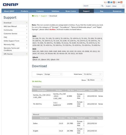 QNAP TurboNAS TS-469 Pro NAS Server Review