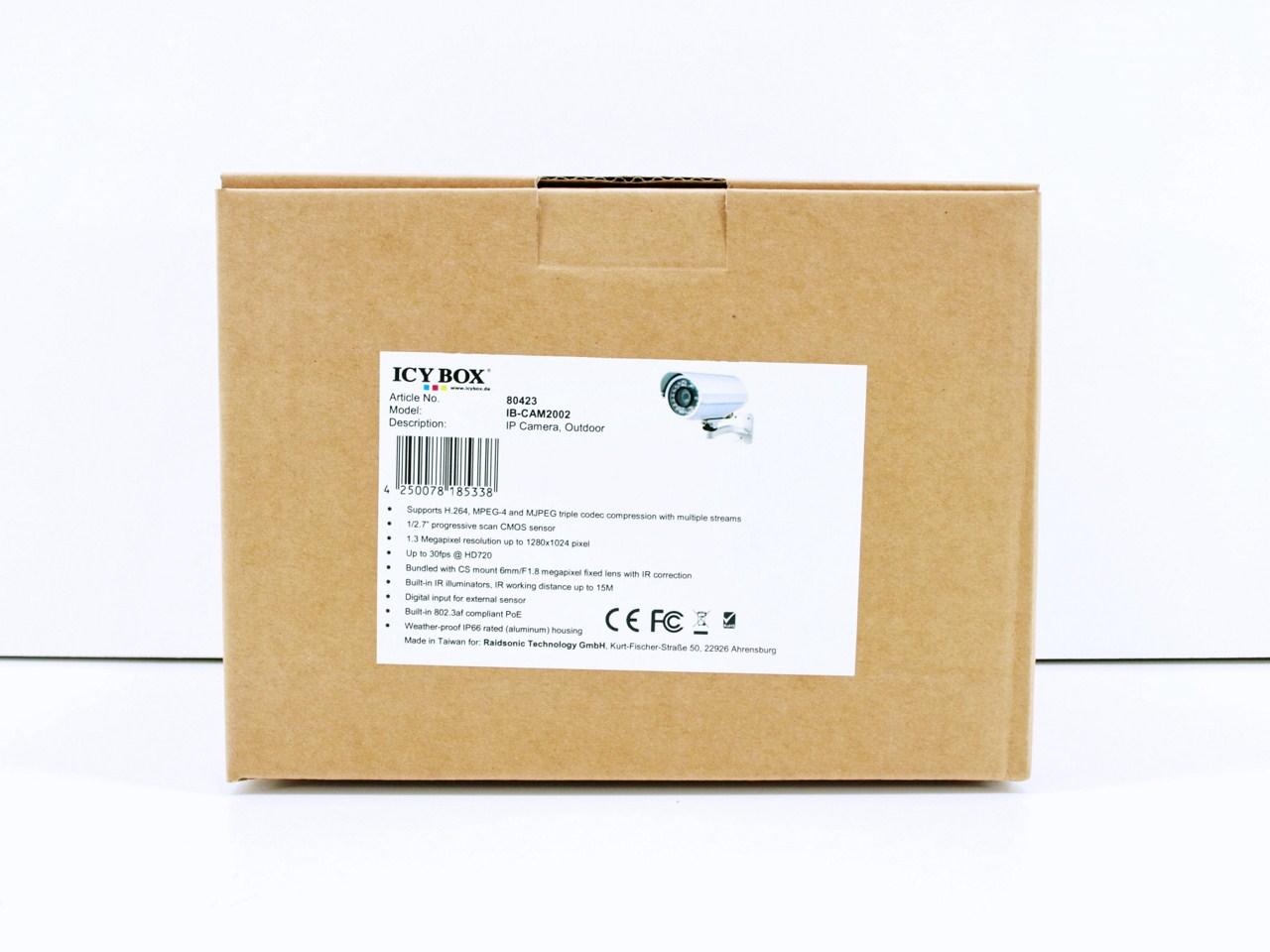 RaidSonic ICY BOX IB-CAM2002 1.3MP Outdoor IP Camera Review