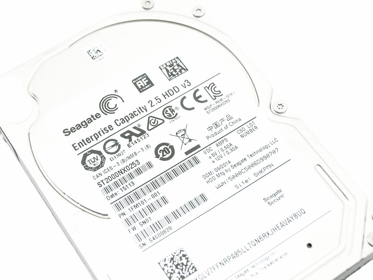 seagate enterprise capacity 2 5 hdd v3 2tb sata iii review