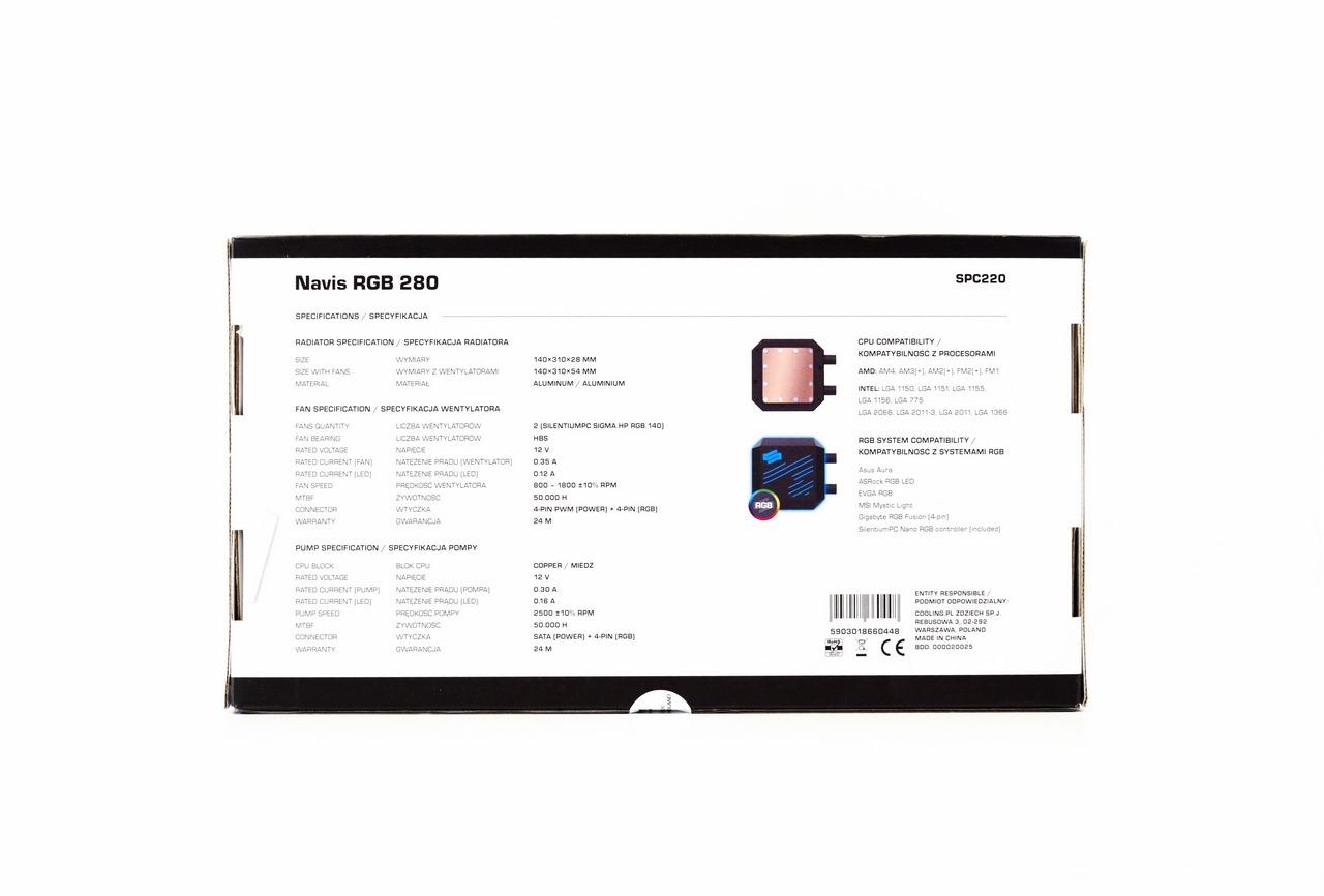 SilentiumPC Navis RGB 280 AIO Liquid CPU Cooler Review