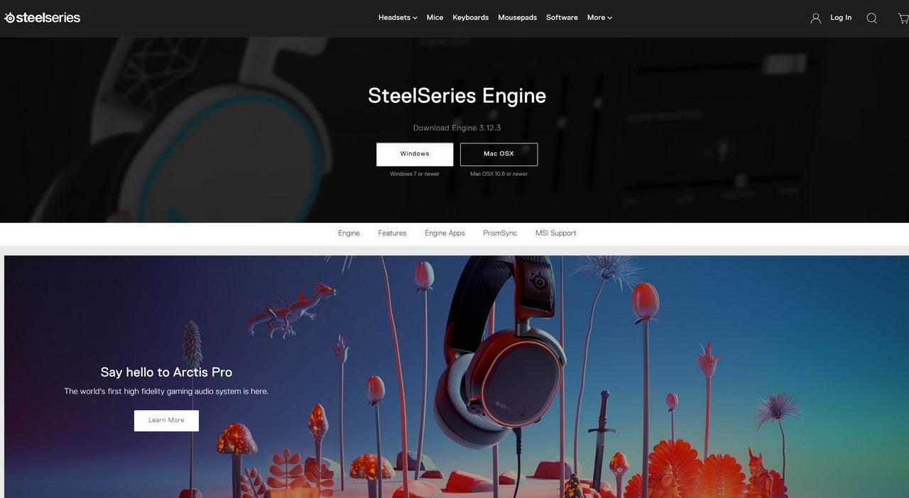 steelseries downloads