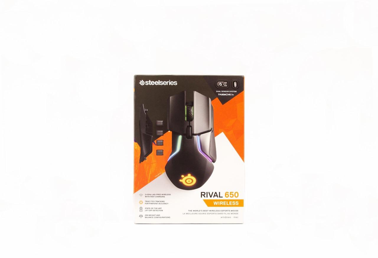 SteelSeries RIVAL 650 Dual Optical Sensor Wireless Gaming