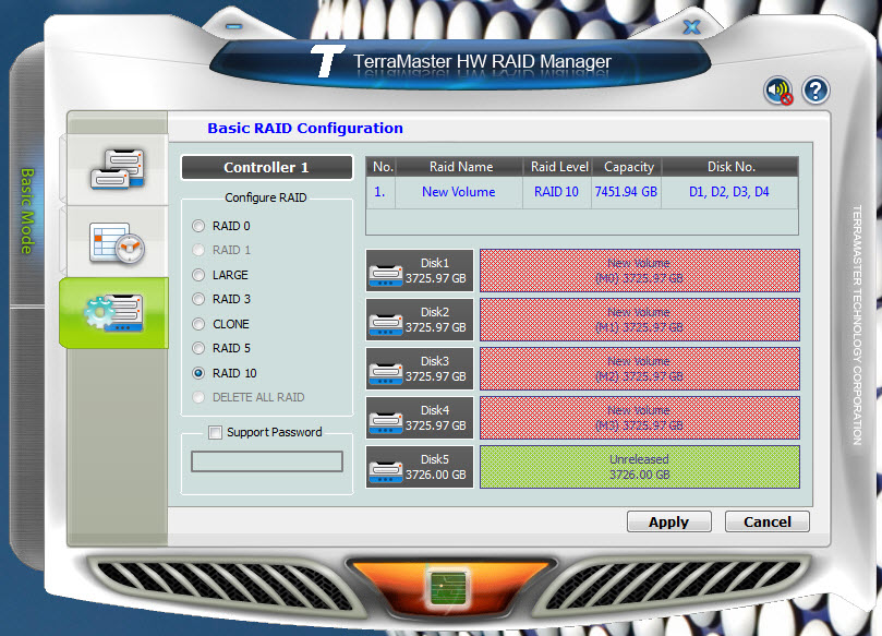 TerraMaster D5-300 USB 3.0 External Hard Drive RAID ...
