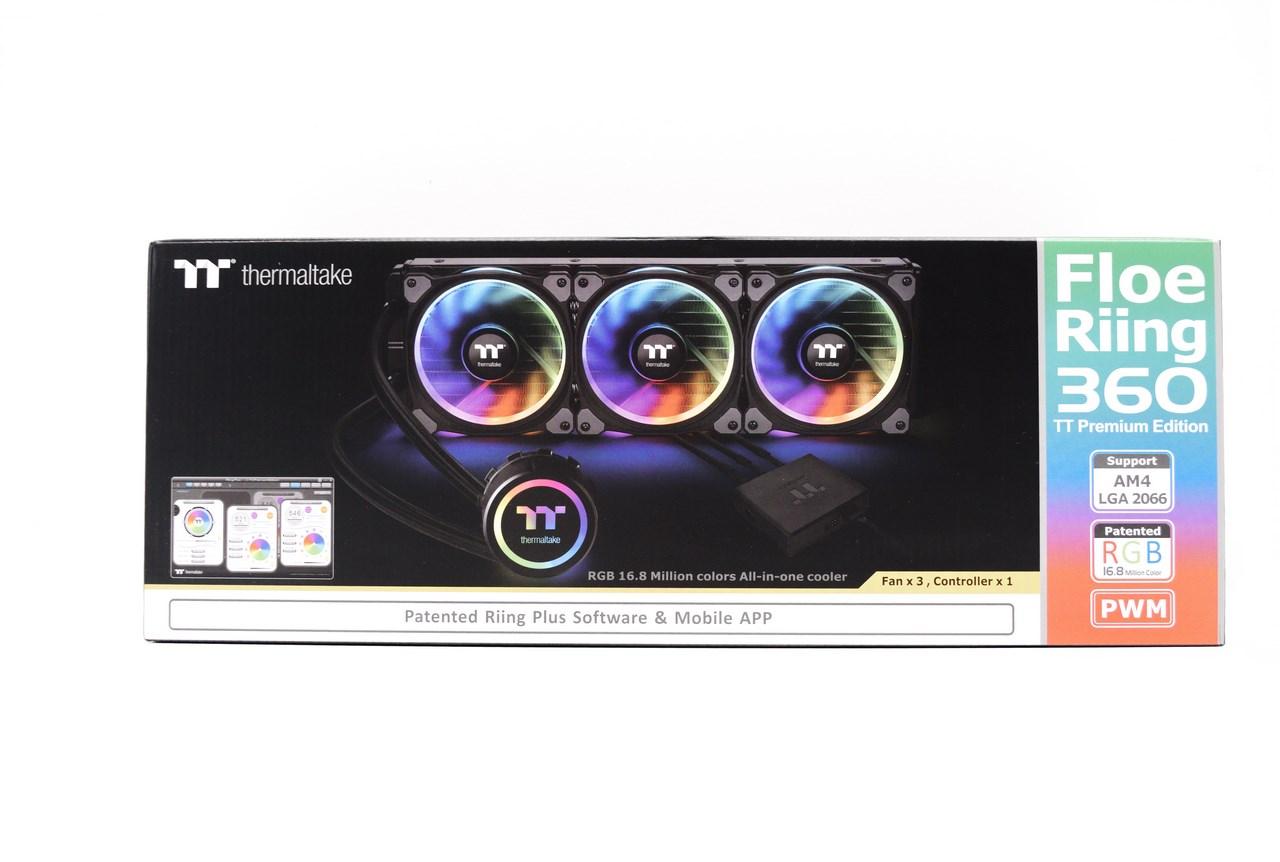 Thermaltake Floe Riing Rgb 360 Tt Premium Edition Liquid