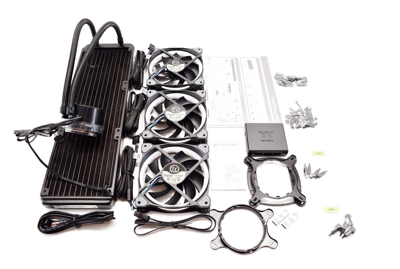 Thermaltake Floe Riing RGB 360 TT Premium Edition Liquid CPU Cooler