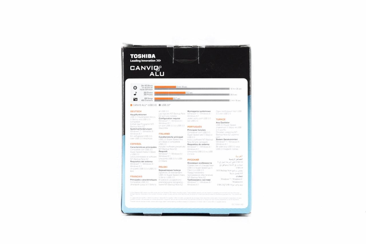 5955 Toshiba Canvio Alu 2tb Usb 3 0 Portable Hard Drive Review