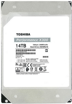 Toshiba Performance X300 14TB SATA III HDD