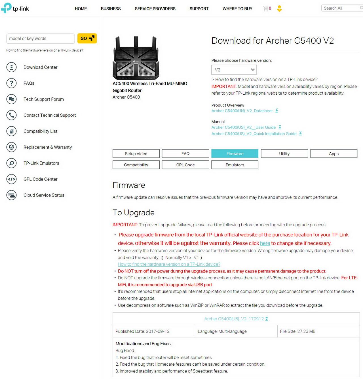 TP-Link Archer C5400 V2 AC5400 Tri-Band MU-MIMMO Gigabit Router Review