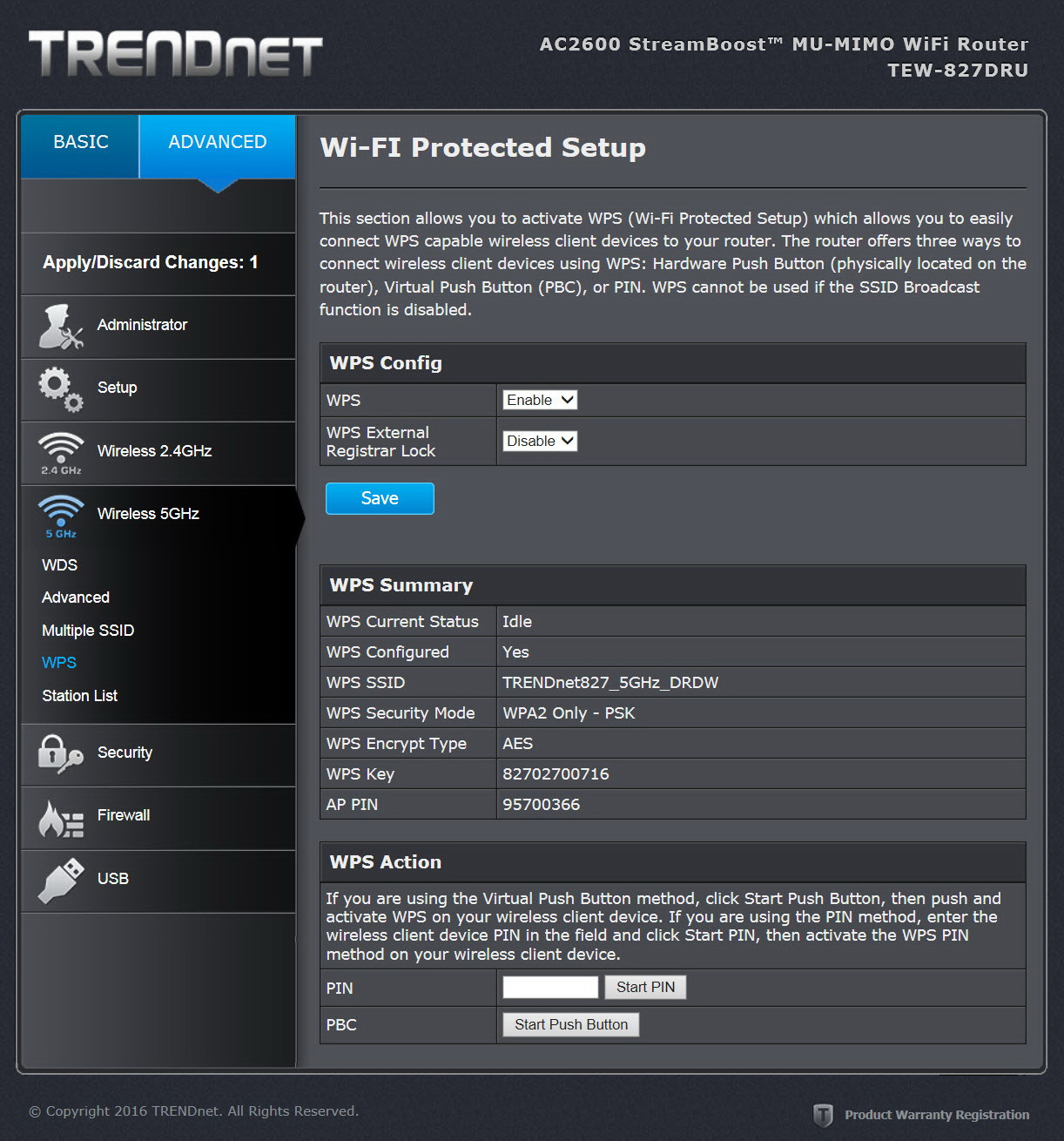 how to set time for device on trendnet dru 812