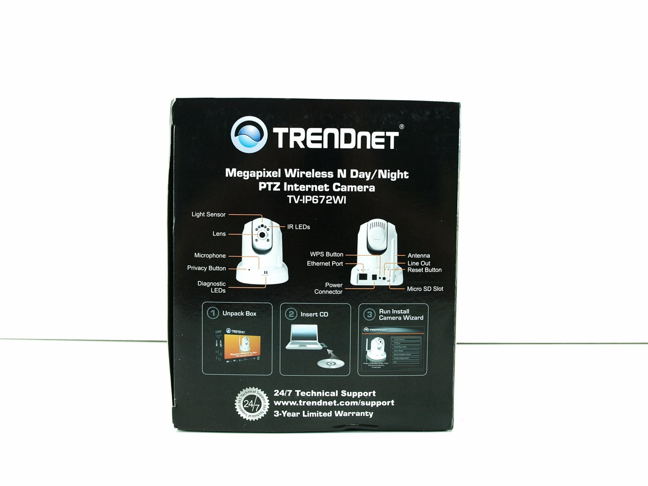 TRENDnet TV-IP672WI Megapixel Wireless Day/Night PTZ IP Camera Review