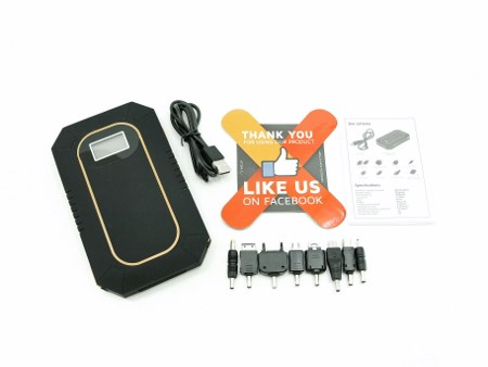 power bank solar charger instructions
